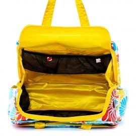 Дорожная сумка или сумка для двойни Ju-Ju-Be Be Prepared - flower power