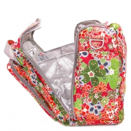 Дорожная сумка или сумка для двойни Ju-Ju-Be Be Prepared - perky perennials