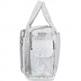 Дорожная сумка или сумка для двойни Ju-Ju-Be Be Prepared powder icing