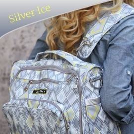 Сумка рюкзак для мамы Ju-Ju-Be B.F.F. - silver ice