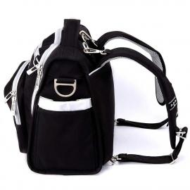 Сумка рюкзак для мамы Ju-Ju-Be B.F.F. black/silver