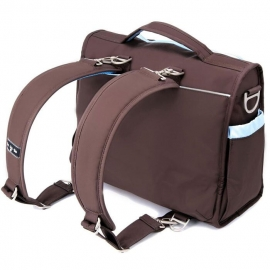 Сумка рюкзак для мамы Ju-Ju-Be B.F.F. brown/robin