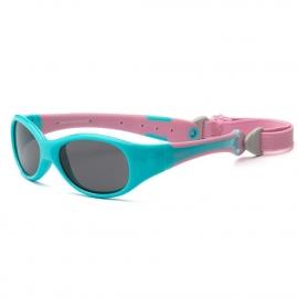 Солнечные очки для малышей Real Kids 0+ розовый/бирюза