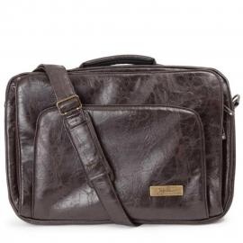 Cумка для ноутбука Ju-Ju-Be Giga Be Earth Leather Laptop Large brown/teal