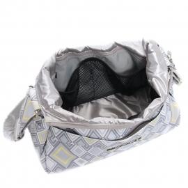 Сумка для мамы Ju-Ju-Be HoboBe - silver ice