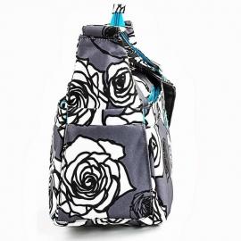 Сумка для мамы Ju-Ju-Be HoboBe charcoal roses