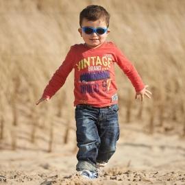 Детские солнцезащитные очки Real Kids Explorer 2-4 года синий/оранжевый