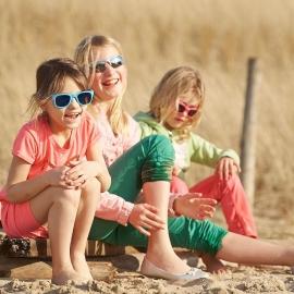Детские солнцезащитные очки Real Kids Breeze 4+ белый/розовый