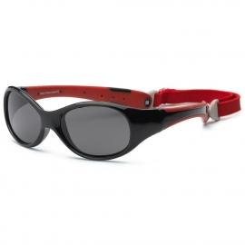 Детские солнцезащитные очки Real Kids Explorer 4+ черный/красный