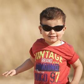Детские солнцезащитные очки Real Kids Explorer 4+ синий/оранжевый