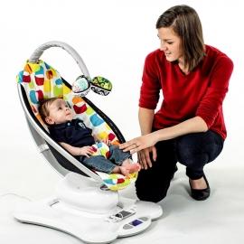 Кресло-качалка 4moms mamaRoo 3.0 Дизайн плюш