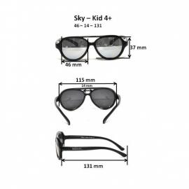 Детские солнцезащитные очки Real Kids Авиатор 4+ неон зеленые