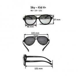 Детские солнцезащитные очки Real Kids Авиатор 4+ синие