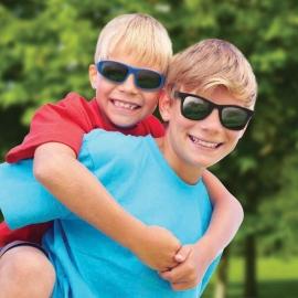 Детские солнцезащитные очки Real Kids Серф 4+ черные