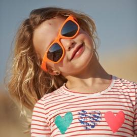 Детские солнцезащитные очки Real Kids Серф 4+ оранжевые