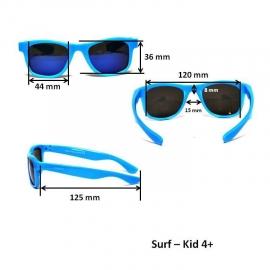 Детские солнцезащитные очки Real Kids Серф 4+ красные