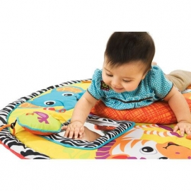 Развивающий коврик с системой сложения Twist&Fold Сафари infantino