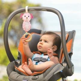 "Развивающая игрушка ""Розовая Собачка"" infantino"