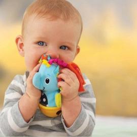 """Развивающая игрушка """"Слоненок-колокольчик"""" infantino"""
