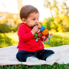 "Развивающая игрушка ""Коровка"" infantino"