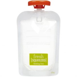 Мягкая упаковка 10 шт. для пюре и смузи infantino fresh