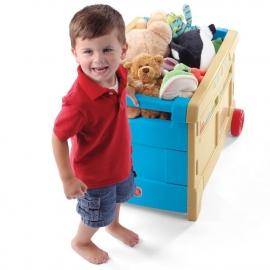 Контейнер для игрушек на колесах