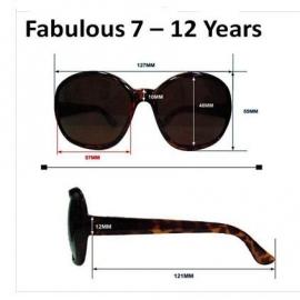 детские солнцезащитные очки Real Kids Shades 7-12 лет 712FABBLK