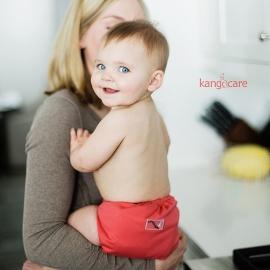 Подгузник для плавания Newborn Snap Cover Kanga Care Spice