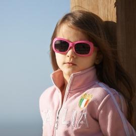 Детские солнцезащитные очки Real Kids 7+ Breeze для девочек розовый/салатовый