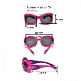 Детские солнцезащитные очки Real Kids 7+ Breeze для девочек фиолетовый/синий
