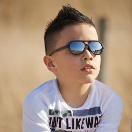Детские солнцезащитные очки Real Kids Авиаторы 7+ неон зеленые