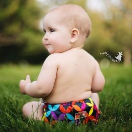 Подгузник для плавания Newborn Snap Cover Kanga Care Jeweled