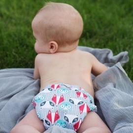 Многоразовый подгузник для новорожденного Lil Joey Kanga Care Clyde