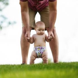 Подгузник для плавания Newborn Snap Cover Kanga Care Bonnie