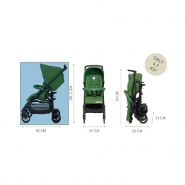 Прогулочная коляска Inglesina Zippy Light Golf Green