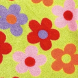 Флисовый конверт Buggysnuggle Bright Flower Fleece
