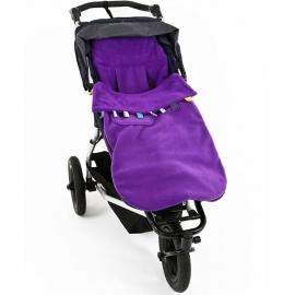 Флисовый конверт Buggysnuggle Toggles Electric Purple