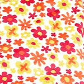 Конверт Buggysnuggle Ditsy Flower Cream /искусственный мех
