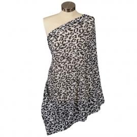 Шарф для кормления Itzy Ritzy Cheetah Girl