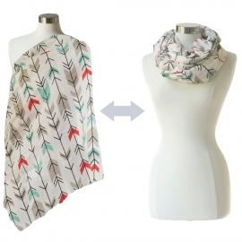 Муслиновый шарф для кормления Itzy Ritzy Fletching Arrows