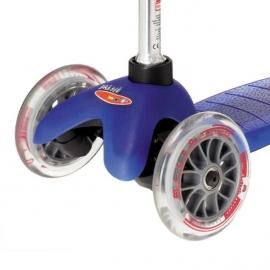 Самокат Mini Micro синий для детей от 1,5 до 5 лет