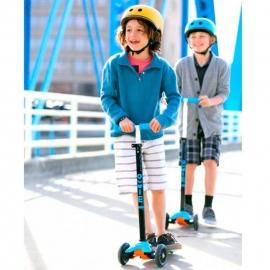 Самокат Maxi Micro T аква для детей от 5 до 12 лет