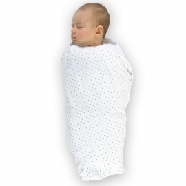 Фланелевая пеленка Organic Brown Edge