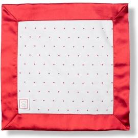 Комфортер платочек обнимашка Baby Lovie - Flannel Red Lt. Stars