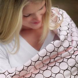 Фланелевая пеленка для новорожденного SwaddleDesigns Kiwi Mod on WH