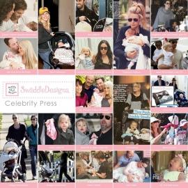Комфортер платочек обнимашка Baby Lovie SwaddleDesigns плюшевая нежность Pink w/BR Mod C
