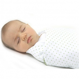 Фланелевая пеленка для новорожденного SwaddleDesigns Fuchsia Lt. Heart