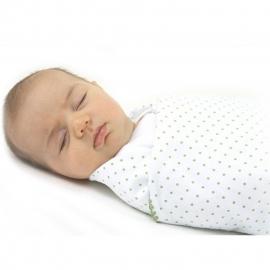 Фланелевая пеленка для новорожденного SwaddleDesigns Kiwi w/Barely IV
