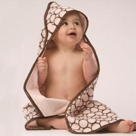 Полотенце с капюшоном Hooded Towel Pink w/BR Mod C
