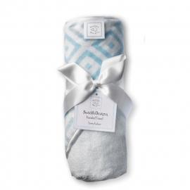 Полотенце с капюшоном Hooded Towel Blue w/PT Mod C